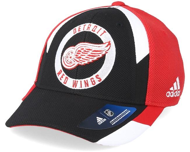 44d14dabad7 Detroit Red Wings Echo Red Flexfit - Adidas caps - Hatstorecanada.com