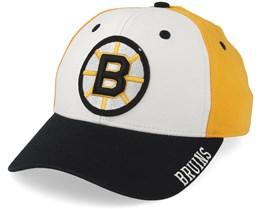 Boston Bruins Cotton 3 Colour White/Yellow/Black Adjustable - Adidas