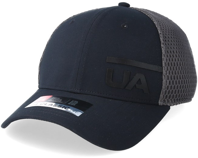 fc28710c7bb Train Spacer Mesh Black Flexfit - Under Armour caps - Hatstoreworld.com