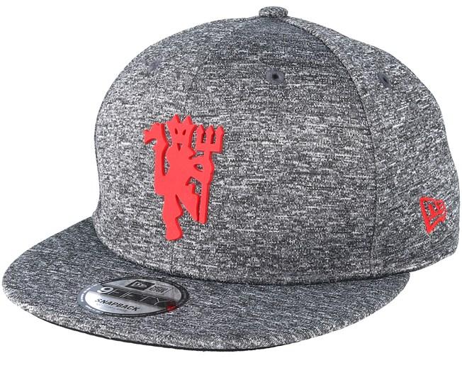 Manchester United Red Devil Jersey Grey Adjustable - New Era keps -  Hatstore.se cbbdadbc63f3