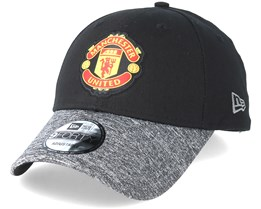 uk availability 12a12 ac20a Manchester United Marl Vize 9Forty Black Adjustable - New Era