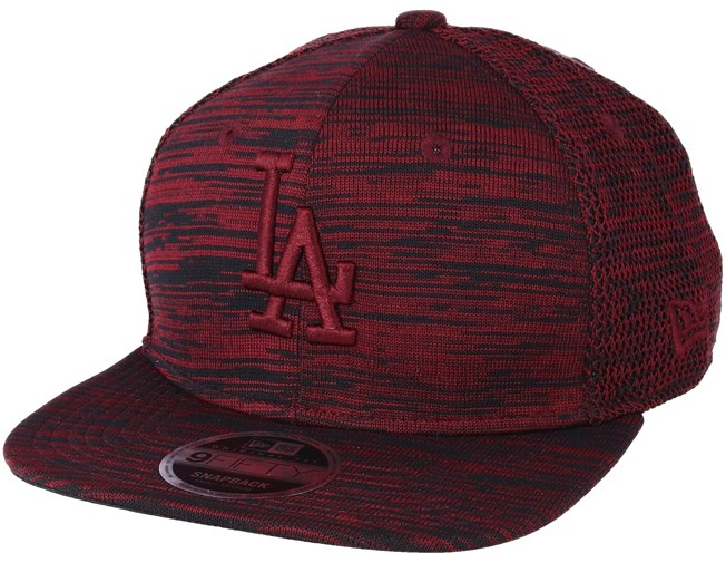 Los Angeles Dodgers Engineered Fit 9Fifty Red Snapback - New Era caps -  Hatstoreworld.com 4153b1d8d719