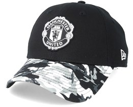 2723db8134471 Manchester United Vize 9Forty Black Camo Adjustable - New Era