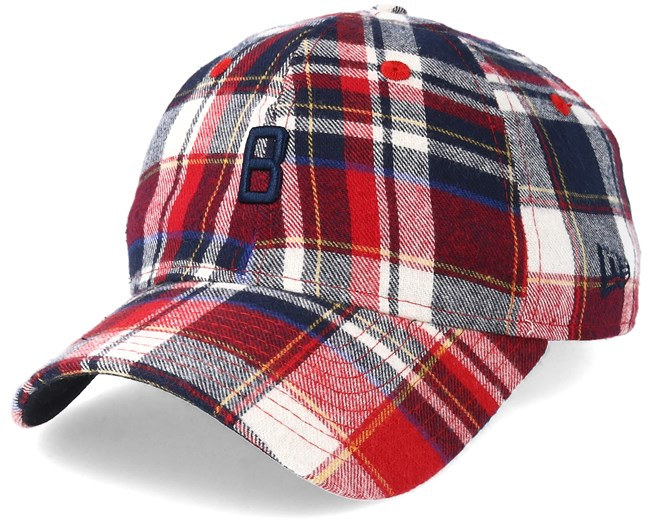 c88be2682a3 Boston Red Sox 9Forty Spring Plaid Adjustable - New Era caps ...