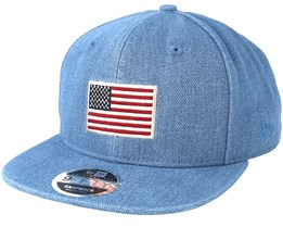 Seasonal Flag 9Fifty Denim Snapback - New Era