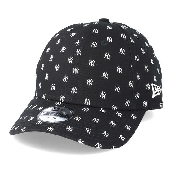 964f1355f9a New York Yankees Monogram 9Forty Black Adjustable - New Era caps -  Hatstoreaustralia.com