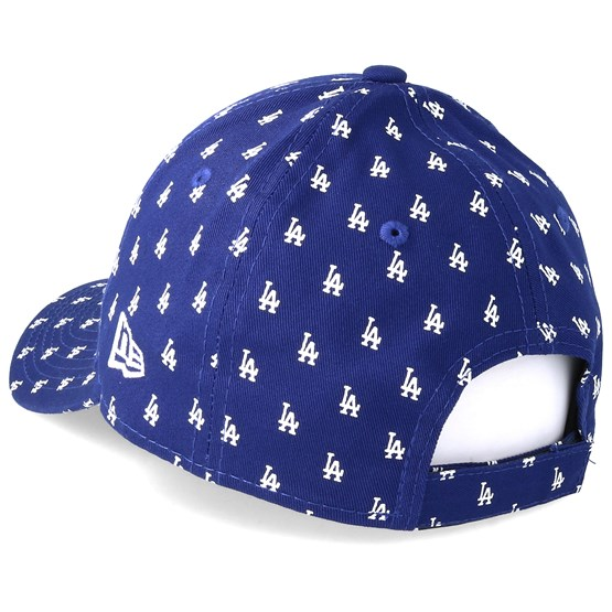 8696bbedbcf Kids Los Angeles Dodgers Monogram 9Forty Blue Adjustable - New Era cap -  Hatstore.co.in