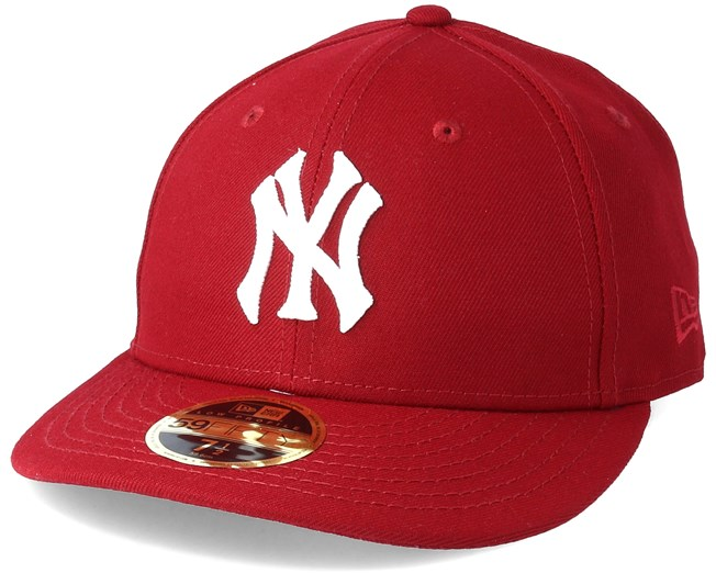 6773fc7db272f1 New York Yankees Chain Low Profile 59Fifty Cardinal Fitted - New Era caps -  Hatstoreworld.com