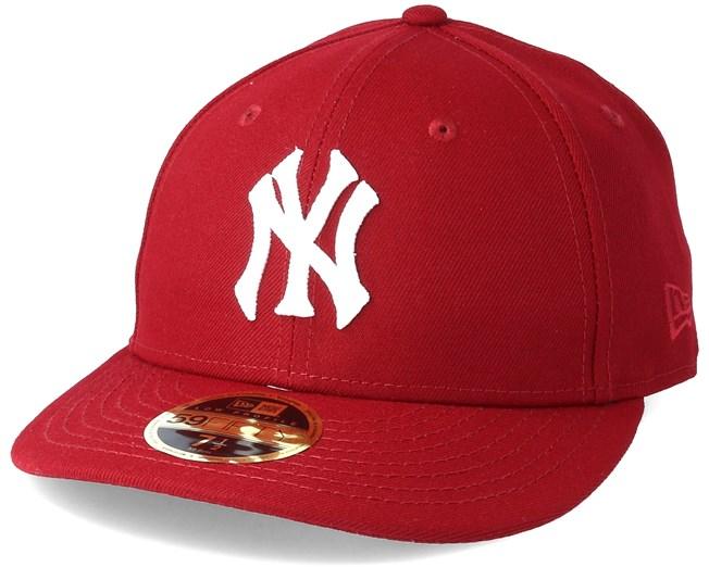 bda772801cfb6d New York Yankees Chain Low Profile 59Fifty Cardinal Fitted - New Era caps -  Hatstoreworld.com