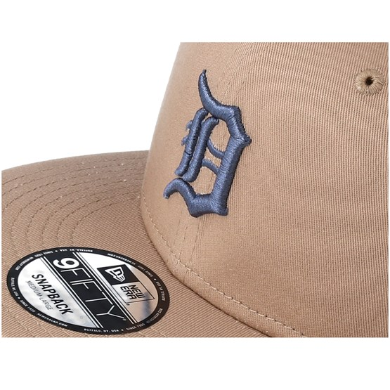 best sneakers 84106 e2b65 Detroit Tigers League Essential 9Fifty Camel Snapback - New Era caps    Hatstore.co.uk