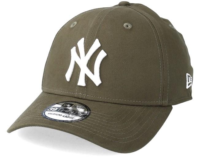 New York Yankees 39Thirty Olive Flexfit - New Era caps - Hatstoreworld.com 46f723f6df0