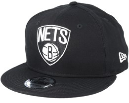 Brooklyn Nets 9Fifty Black Snapback - New Era