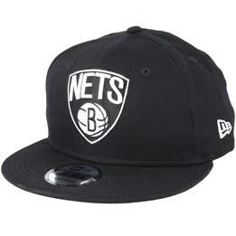 c98b52b9768bb New Era Brooklyn Nets 9Fifty Black Snapback - New Era AU  44.99 AU  49.99