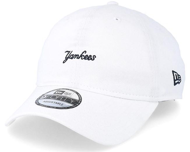c7e72ab33 New York Yankees 9Forty White Adjustable - New Era caps - Hatstoreworld.com