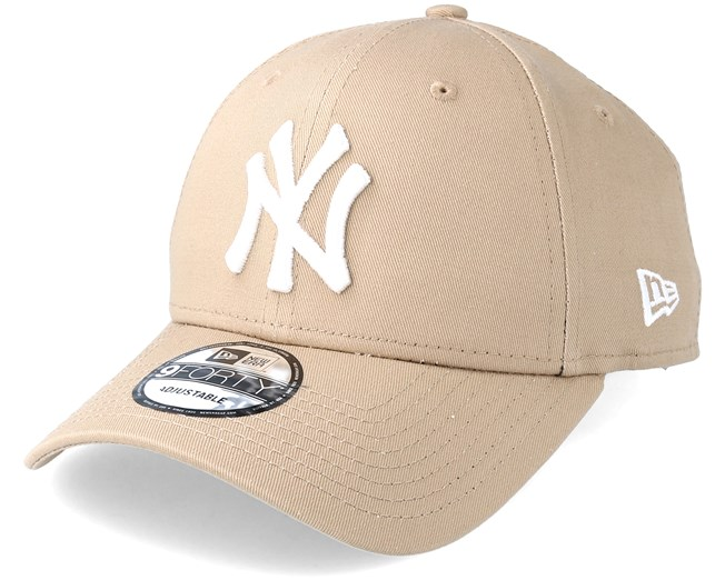 New York Yankees 9Forty Camel Adjustable- New Era caps - Hatstoreworld.com 456bbbf077c