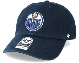 Edmonton Oilers Clean Up Navy Adjustable - 47 Brand