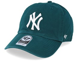 New York Yankees 47 Clean Up Pacific Green/ White Adjustable - 47 Brand