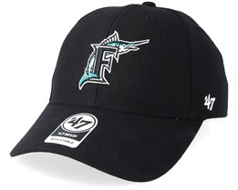 Miami Marlins Cooperstown Mvp Black Adjustable - 47 Brand
