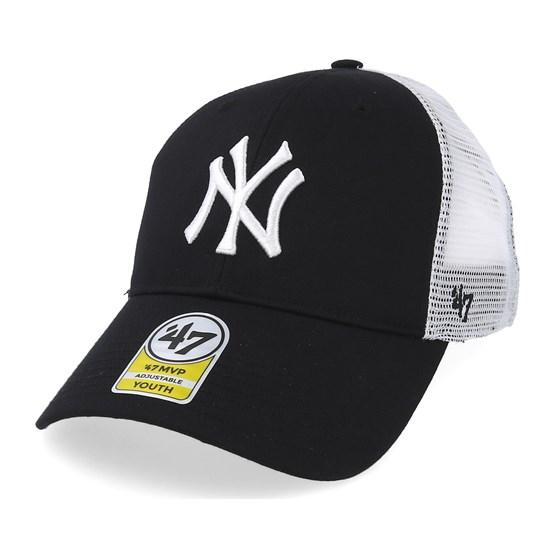 1a11de9ee6bef Kids New York Yankees Branson Black Trucker - 47 Brand caps -  Hatstorecanada.com