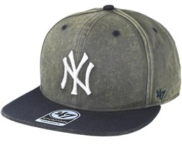 New York Yankees Navy Cement Snapback - 47 Brand a0ccc20e7c44