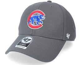 Chicago Cubs Mvp Charcoal Adjustable - 47 Brand