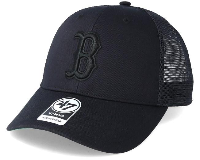 89e99f978e03f Boston Red Sox Branson Black Trucker - 47 Brand caps - Hatstoreworld.com