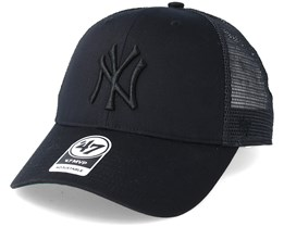 e0de162f08a46 New York Yankees Branson Black Trucker - 47 Brand