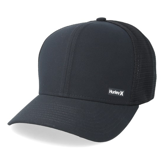 League Black Trucker - Hurley caps - Hatstorecanada.com 9e7c0c7d838
