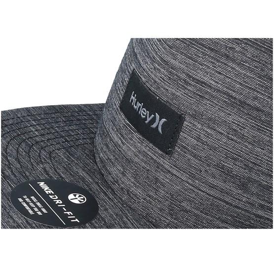 Dri-Fit Staple Charcoal Snapback - Hurley cap - Hatstore.co.in f8fc4f783661