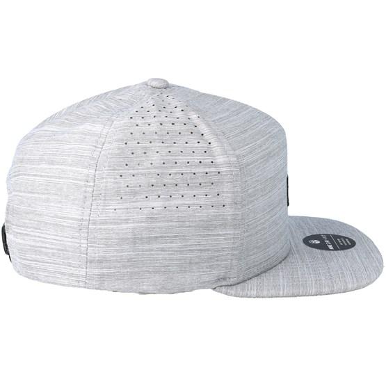 Dri-Fit Staple Grey Snapback - Hurley cap - Hatstore.co.in 2a5d9e5603f
