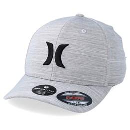 promo code 427d1 0d402 Hurley Dri-Fit Cutback Grey Flexfit - Hurley CA  42.99