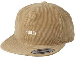 Cords Khaki Snapback - Hurley