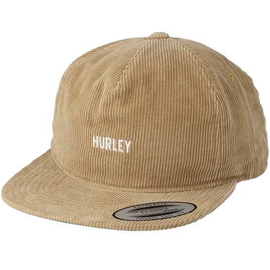 buy popular cca5f 8ccca Cords Khaki Snapback - Hurley cap - Hatstore.co.in