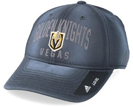 Vegas Golden Knights Heavy Washed Cotton Charcoal Flexfit - Adidas