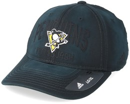 Pittsburgh Penguins Heavy Washed Cotton Black Flexfit - Adidas