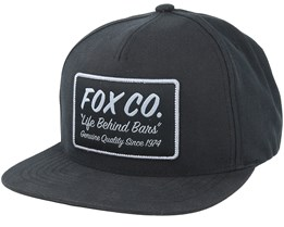 Resin Black 110 Snapback - Fox