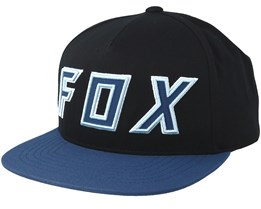 Posessed Black/Navy Snapback - Fox