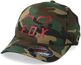 Furnace Green Camo Flexfit - Fox