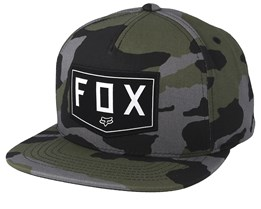 Shield Grey Camo Snapback - Fox