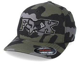 ba014cf35 Ellipsoid Camo Flexfit - Fox