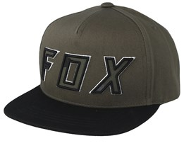 Kids Posessed Olive Green/Black Snapback - Fox