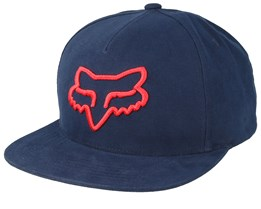 Instill Midnight Blue/Red Snapback - Fox
