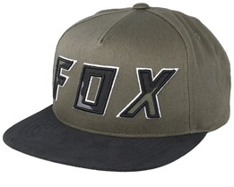 Posessed Olive Green/Black Snapback - Fox