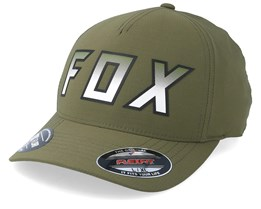 Hightail It Olive Green Flexfit - Fox
