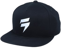 Bolted Black/Silver Snapback - Shift