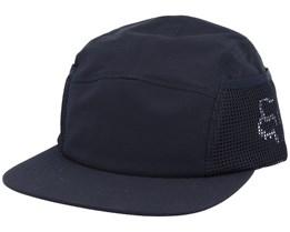 Side Pocket Hat Black 5-Panel - Fox