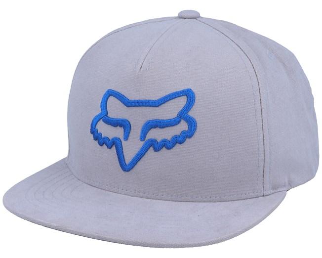 Instill Grey/Blue Snapback - Fox