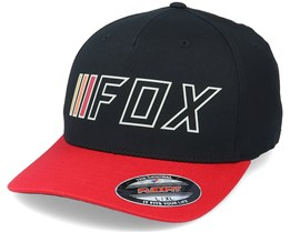 Brake Check Black/Red Flexfit - Fox