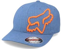 Clouded Blue Steel/Orange Flexfit - Fox
