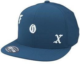 Chop Shop Hat Dark Indigo Snapback - Fox